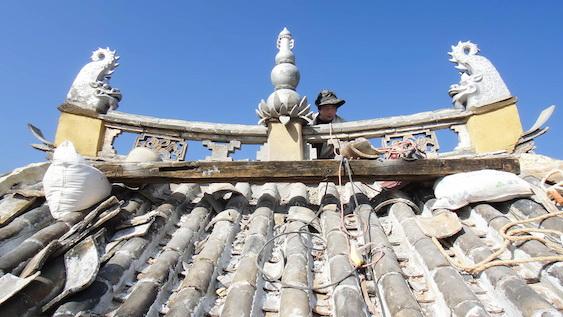 Restoring the Jade Emperor - rebuilding a Yunnan temple